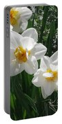 Miner's Wife Daffodils Portable Battery Charger
