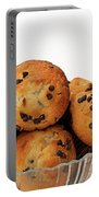 Mini Chocolate Chip Muffins And Milk - Bakery - Snack - Dairy - 3 Portable Battery Charger