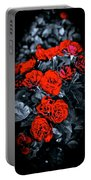 Mini Roses On Walk Portable Battery Charger