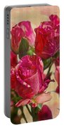 Miniature Roses Portable Battery Charger
