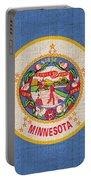 Minnesota State Flag Portable Battery Charger
