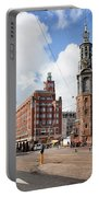 Mint Tower In Amsterdam Portable Battery Charger