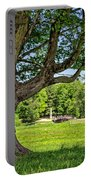 Minute Man National Historical Park  Portable Battery Charger by Edward Fielding
