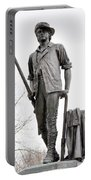 Minute Man Statue Portable Battery Charger