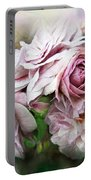 Miracle Of A Rose - Mauve Portable Battery Charger