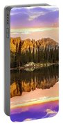 Mirror Lake Yosemite National Park Portable Battery Charger