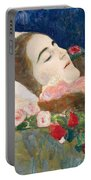 Miss Ria Munk On Her Deathbed Portable Battery Charger