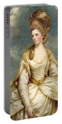 Miss Sarah Campbell Portable Battery Charger by Sir Joshua Reynolds