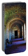Mission Concepcion Cloister Portable Battery Charger