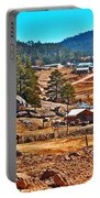 Mission Cusarare Tarahumara Village In Chihuahua-mexico  Portable Battery Charger