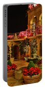 Mission Inn Christmas Chapel Courtyard Portable Battery Charger
