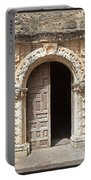 Mission San Jose Chapel Entry Doorway Portable Battery Charger by John Stephens