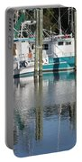 Mississippi Boats Portable Battery Charger by Carol Groenen