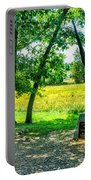 Mississippi Memorial Gettysburg Battleground Portable Battery Charger by Bob and Nadine Johnston