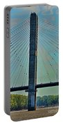 Mississippi River Bridge At Cape Girardeau Mo  Portable Battery Charger