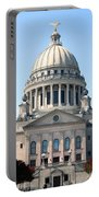 Mississippi State Capitol Downtown Jackson Portable Battery Charger