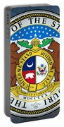 Missouri State Seal Portable Battery Charger