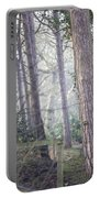 Mist Through The Trees Portable Battery Charger