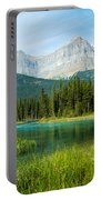 Mistaya River And Mountains Portable Battery Charger