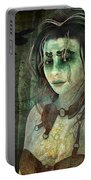 Mistress Of The Dark Woods Portable Battery Charger