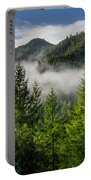 Mists Among The Hills Portable Battery Charger