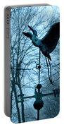 Misty Egret Portable Battery Charger