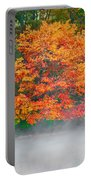 Misty Fall Tree Portable Battery Charger