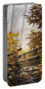 Misty Footbridge Portable Battery Charger