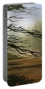 Misty Forest Bay Portable Battery Charger