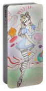 Misty Kay In Wonderland Portable Battery Charger
