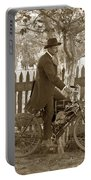 Mitchell Motorcycle Circa 1907 Portable Battery Charger