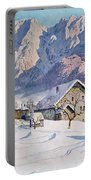 Mitterndorf In Austria Portable Battery Charger by Gustave Jahn