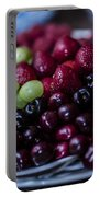 Mixed Fruit Portable Battery Charger