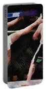 Mixed Martial Arts - A Kick To The Head Portable Battery Charger