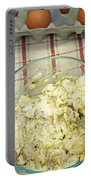 Mixing Egg Salad Ingredients Portable Battery Charger