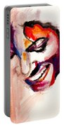 Mj Impression Portable Battery Charger by Molly Picklesimer