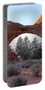 Moab Snow Globe Portable Battery Charger