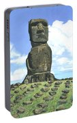 Moai Portable Battery Charger