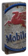 Mobil Gas Sign Portable Battery Charger