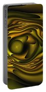 Mobius Field Generator Fractal Olive Portable Battery Charger