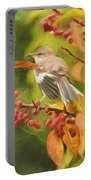 Mockingbird And Berries Portable Battery Charger