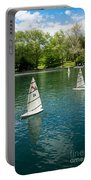 Model Boats On Conservatory Water Central Park Portable Battery Charger