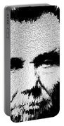 Modern Abe - Abraham Lincoln Art By Sharon Cummings Portable Battery Charger