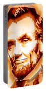 Modern Abraham Lincoln Portable Battery Charger