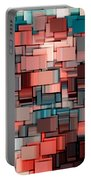 Modern Abstract Ix Portable Battery Charger