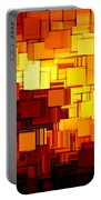 Modern Abstract Xi Portable Battery Charger