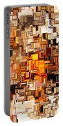 Modern Abstract Xxvi Portable Battery Charger