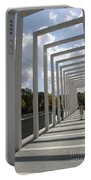 Modern Archway - Schwerin Garden -  Germany Portable Battery Charger
