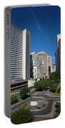 Modern Buildings In Central Rio De Portable Battery Charger