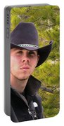 Modern Day Cowboy Portable Battery Charger